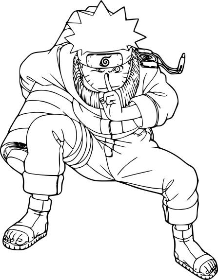 Coloriage Naruto Et Dessin À Imprimer dedans Dessin De Naruto