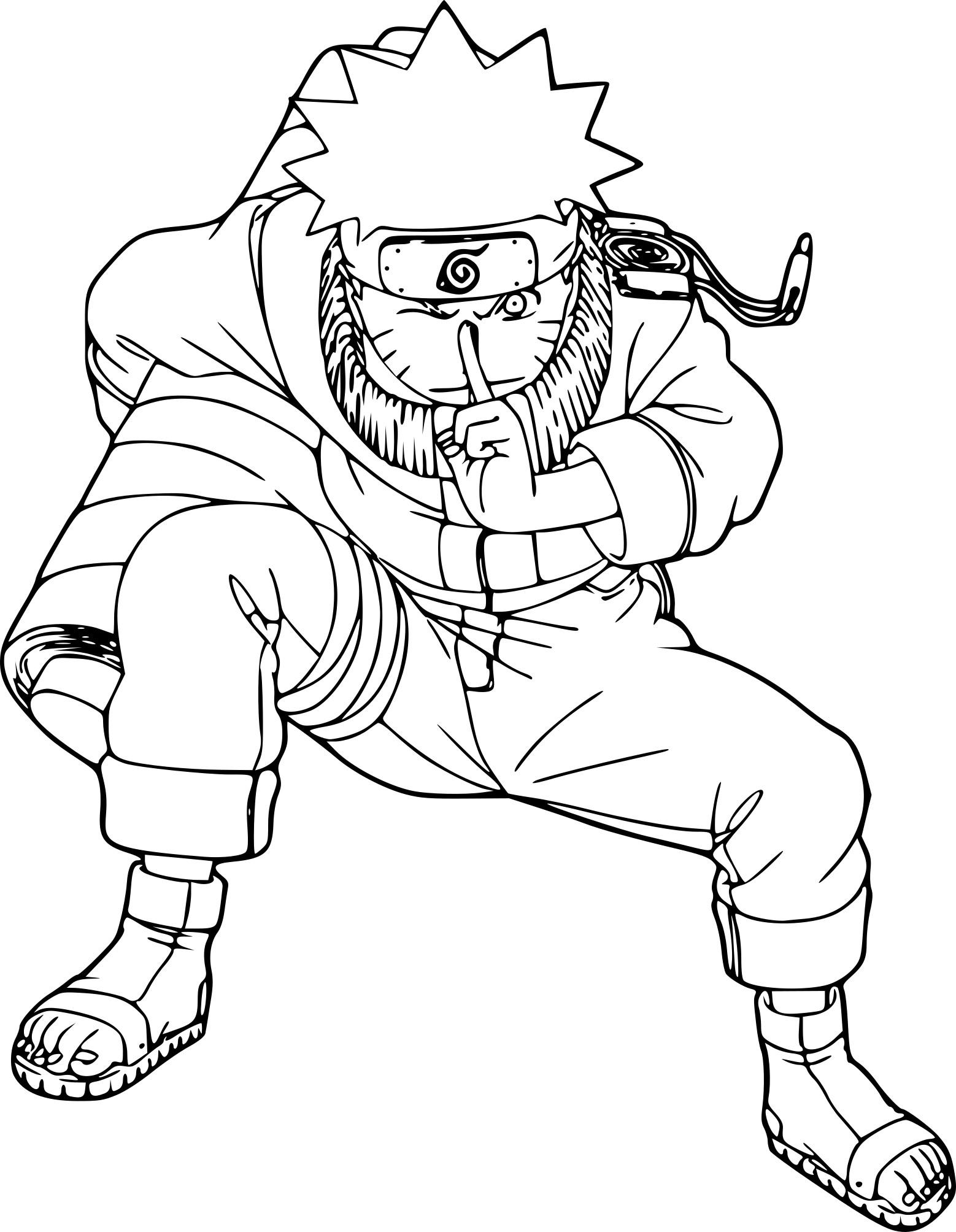 Coloriage Naruto Et Dessin À Imprimer serapportantà Coloriage Manga A Imprimer