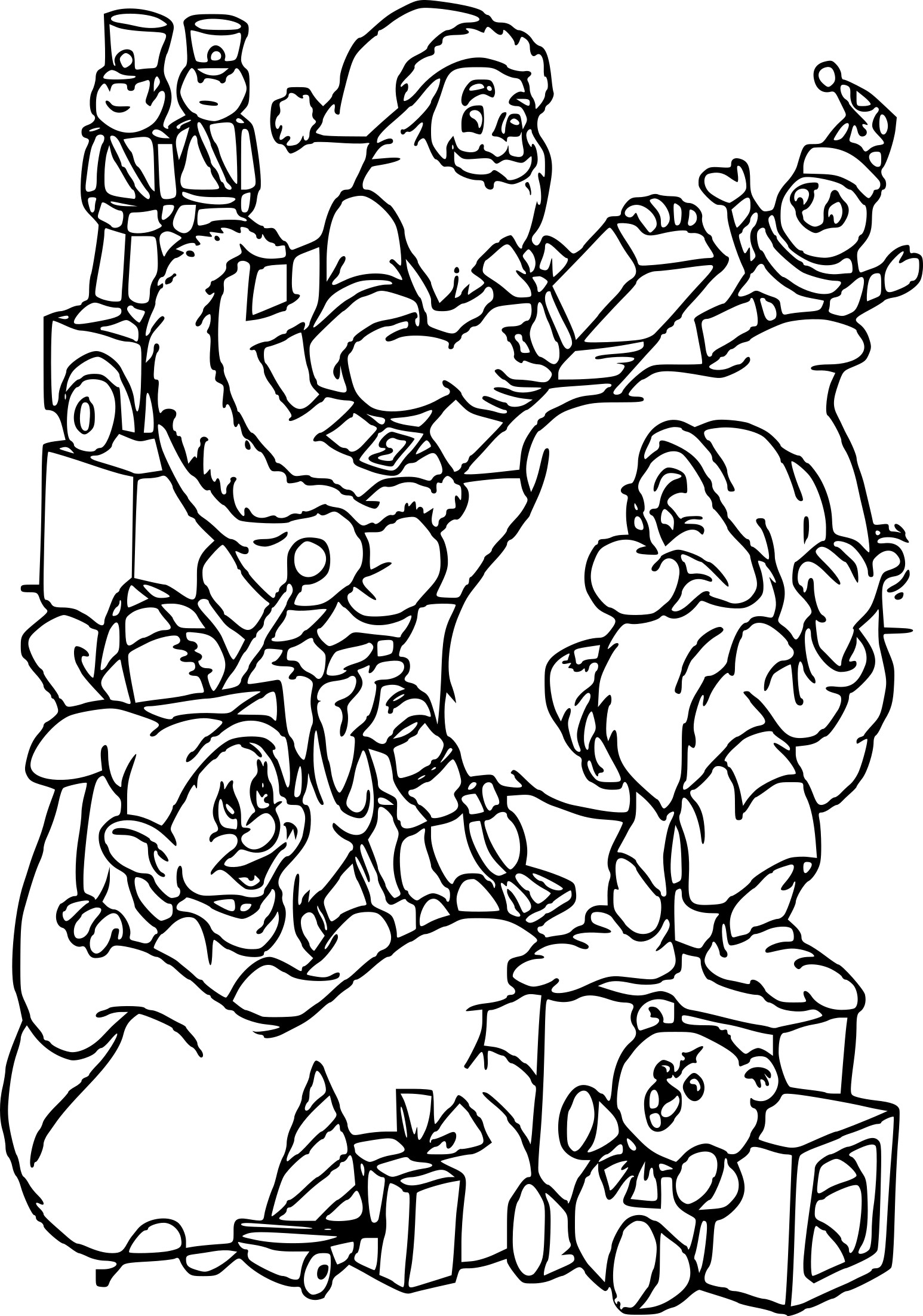 Coloriage Noel Disney À Imprimer destiné Coloriage Disney