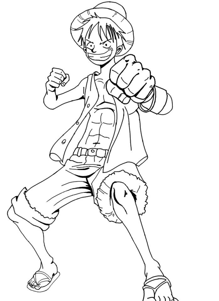 Coloriage One Piece 2 Ans Plus Tard - Ohbq dedans Coloriage One Piece Luffy
