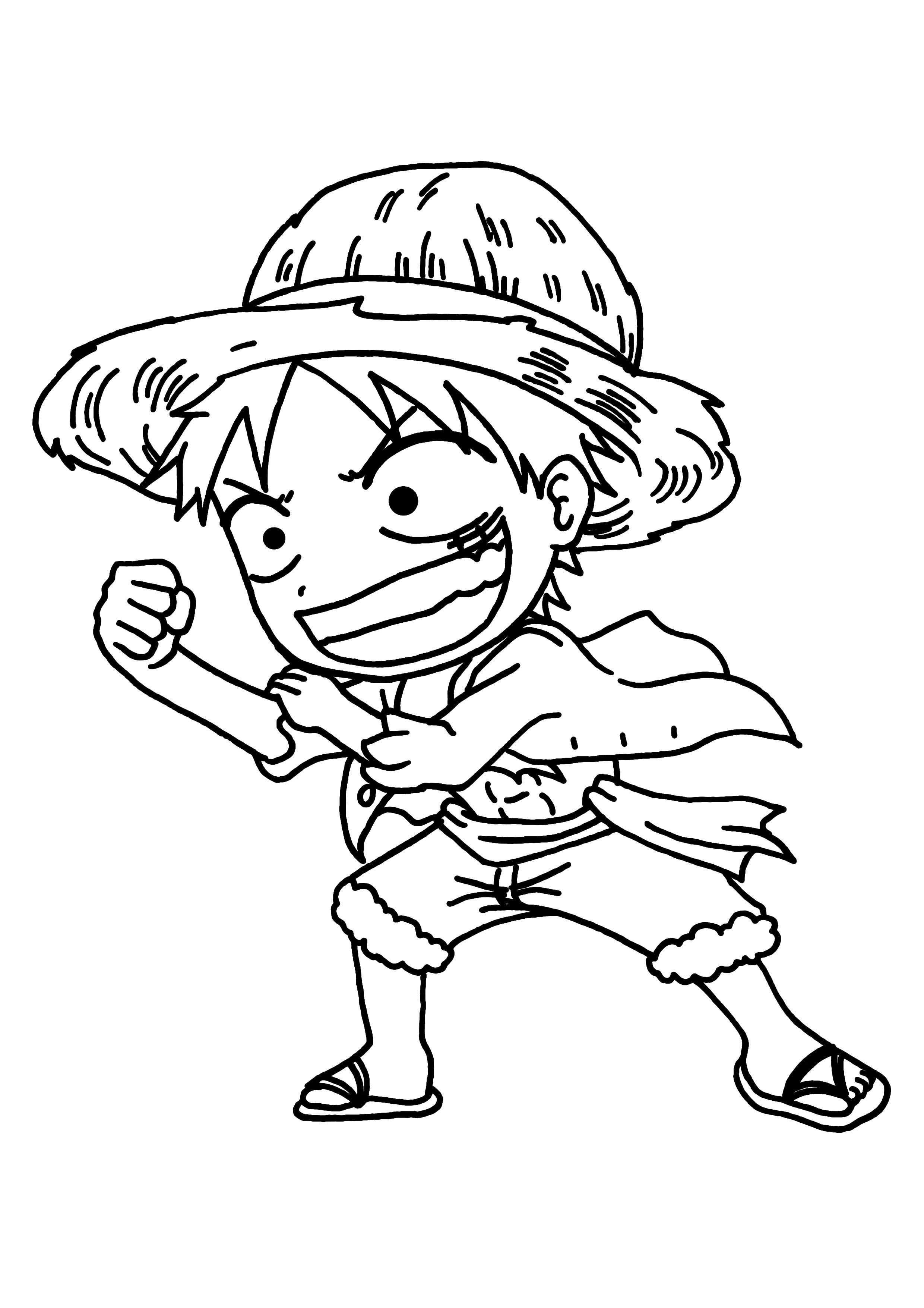 Coloriage One Piece À Colorier Dessin À Imprimer | Dab Dessin concernant Manga Dessin A Imprimer
