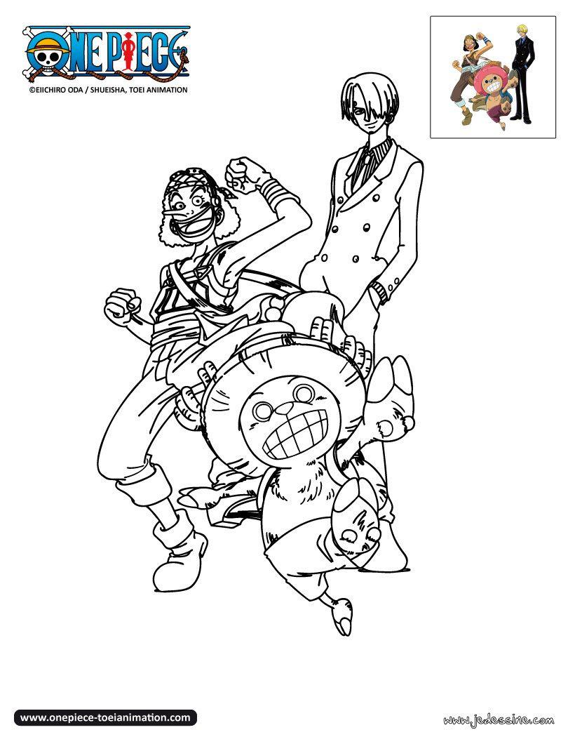 Coloriage One Piece | Coloriage Manga, Coloriage, Dessin dedans Coloriage One Piece A Imprimer