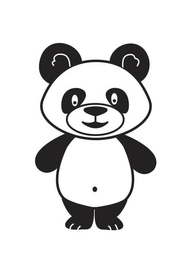 Coloriage Panda - Coloriages Gratuits À Imprimer intérieur Panda A Colorier