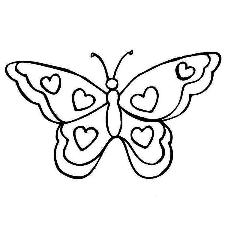Coloriage Papillon A Imprimer Gratuit 2 (Avec Images tout Dessin Papillon À Découper