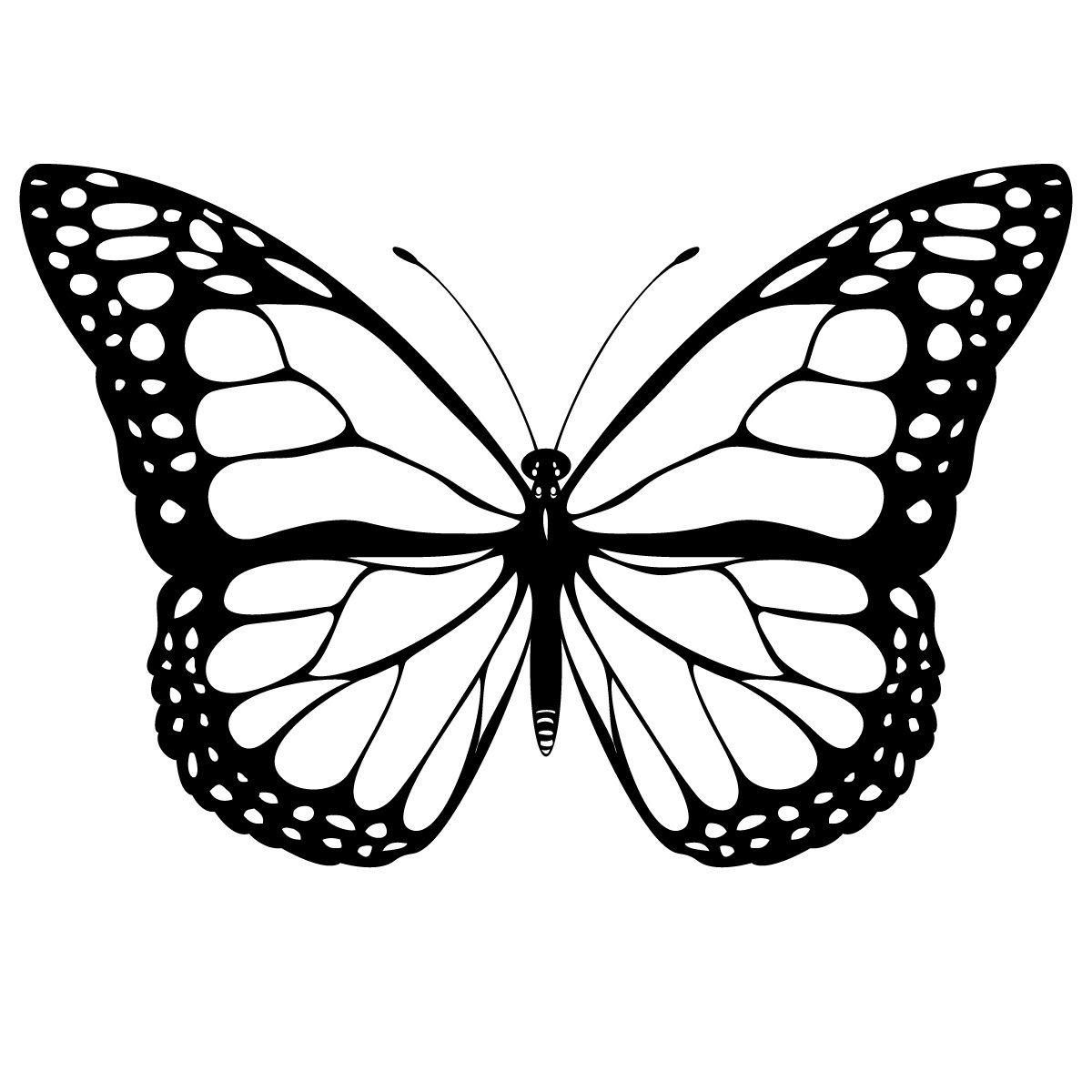 Coloriage Papillon - Les Beaux Dessins De Animaux À serapportantà Dessin Papillon À Découper