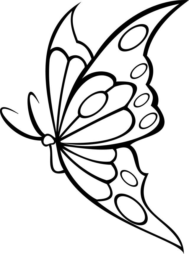 Coloriage Papillon Vecteur Dessin Gratuit À Imprimer tout Coloriage De Papillon A Imprimer Gratuit