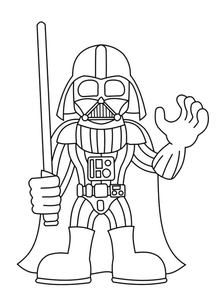 Coloriage Personnage Star Wars : 18 Dessins Uniques Et concernant Coloriage Star Wars Dark Vador