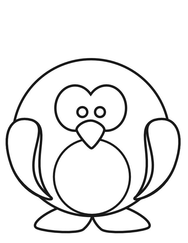 Coloriage Pingouin À Imprimer Gratuitement destiné Dessins Enfants A Colorier
