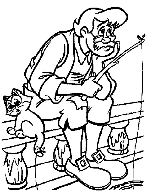 Coloriage Pinocchio À Imprimer Gratuitement pour Coloriage Pinocchio A Imprimer Gratuit