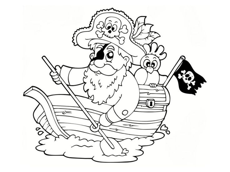 Coloriage Pirate : 25 Dessins À Imprimer | Pirates Dessin destiné Coloriage Capitaine Crochet A Imprimer Gratuit