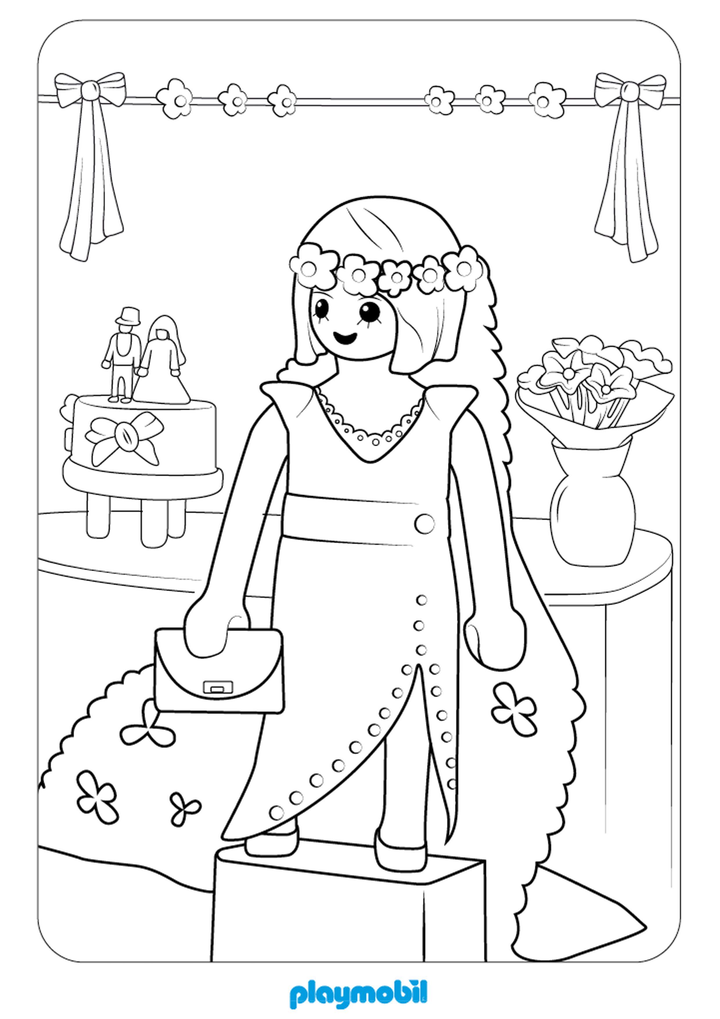 Coloriage Playmobil À Colorier - Dessin À Imprimer pour Coloriage Simba A Imprimer Gratuit