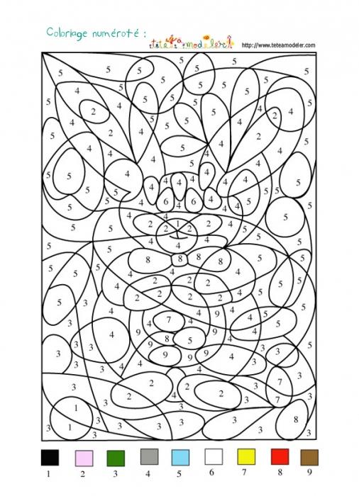 Coloriage Point A Point Imprimer Gratuit Le Lapin De intérieur Un Jeu De Coloriage