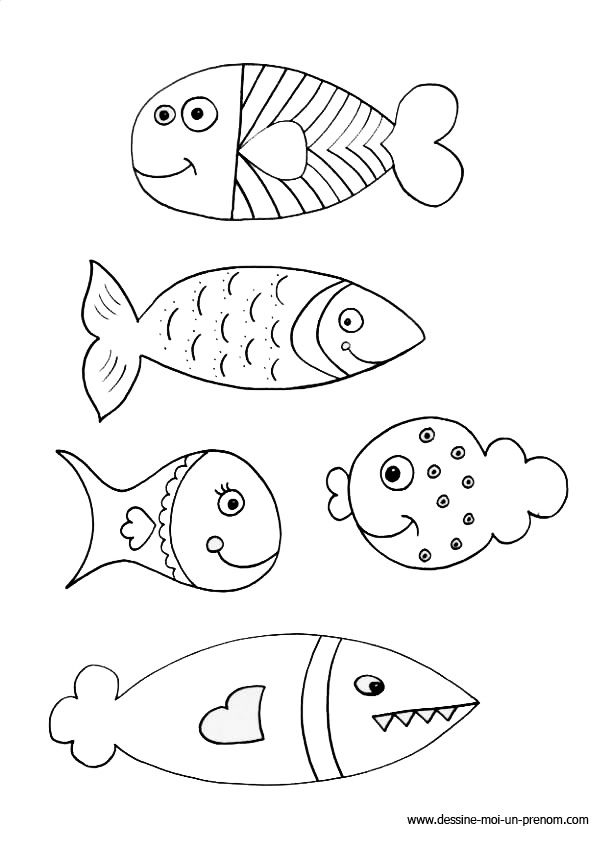 [Coloriage] Poisson D'avril À Imprimer | Coloriage Poisson destiné Poisson D Avril Coloriage A Imprimer