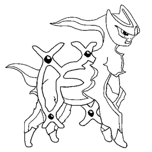 Coloriage Pokémon Arceus En Ligne Gratuit À Imprimer intérieur Photo De Pokémon À Imprimer