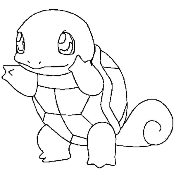 Coloriage Pokémon Carapuce En Ligne Gratuit À Imprimer à Hugo L Escargot Coloriage Gratuit A Imprimer