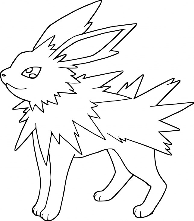 Coloriage Pokemon (Dessins De Pikachu, Sacha, Bulbizarre…) encequiconcerne Coloriage Pokemon Evoli