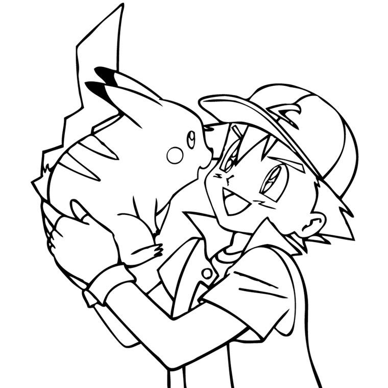 Coloriage Pokemon (Dessins De Pikachu, Sacha, Bulbizarre…) pour Coloriage De Pokemon A Imprimer Gratuitement