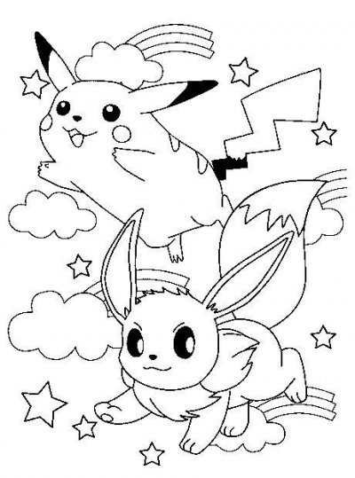 Coloriage Pokemon Gratuit à Coloriag Pokemon