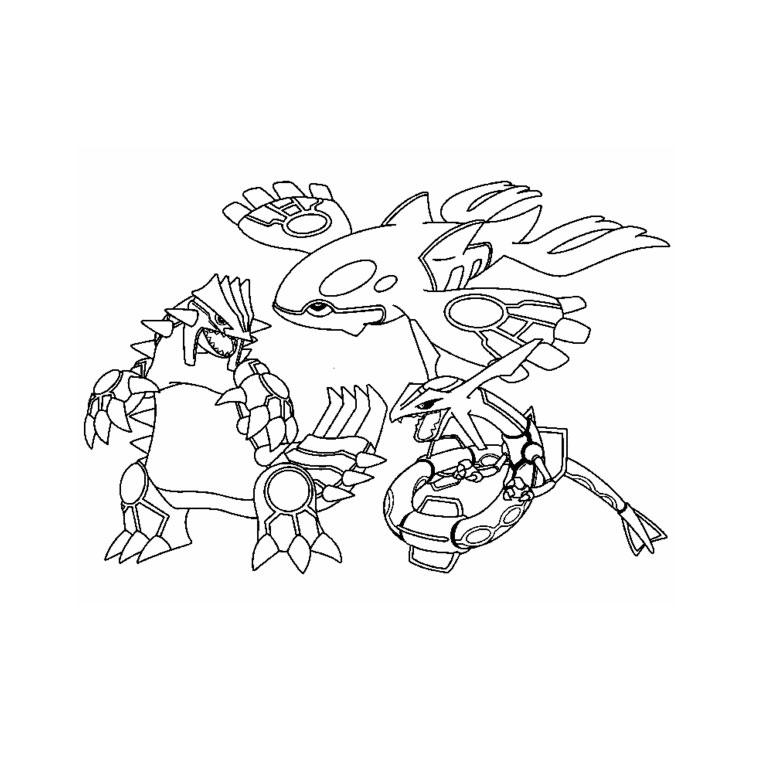 Coloriage Pokemon Légendaire Et Rare À Imprimer encequiconcerne Coloriage A Imprimer Pokemon Legendaire