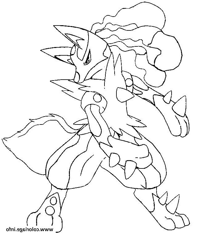 Coloriage Pokemon Mega Evolution Evoli Luxe Photos concernant Coloriage Pokemon Evoli