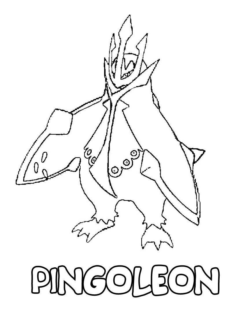 Coloriage Pokemon Obalie intérieur Coloriage De Pokemon A Imprimer
