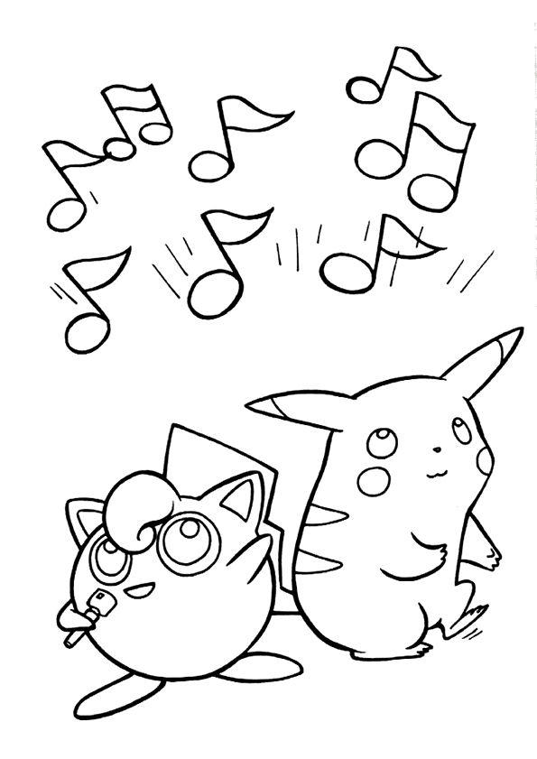Coloriage Pokemon Pikachu 5 | Coloriage Pokemon, Coloriage intérieur Dessins Acolorier