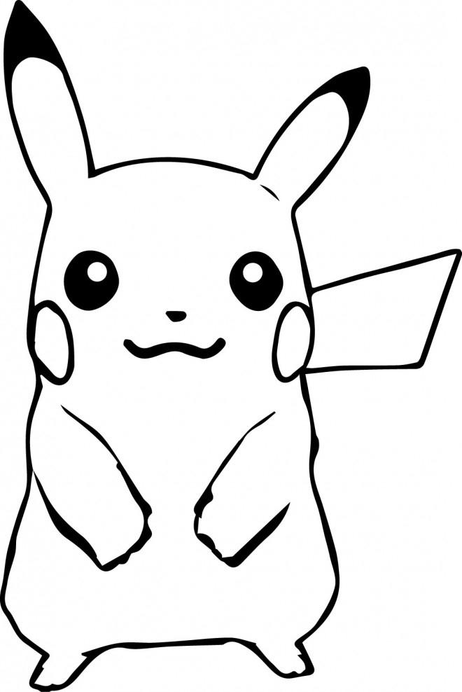 Coloriage Pokemon Pikachu 65 Dessin Gratuit À Imprimer encequiconcerne Coloriage A Imprimer Pokemon Pikachu