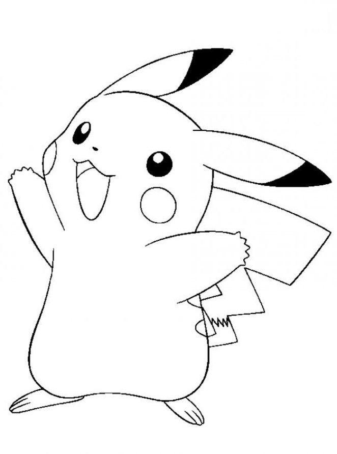 Coloriage Pokemon ! | Pokemon Coloring Pages, Pikachu intérieur Coloriage A Imprimer Gratuits