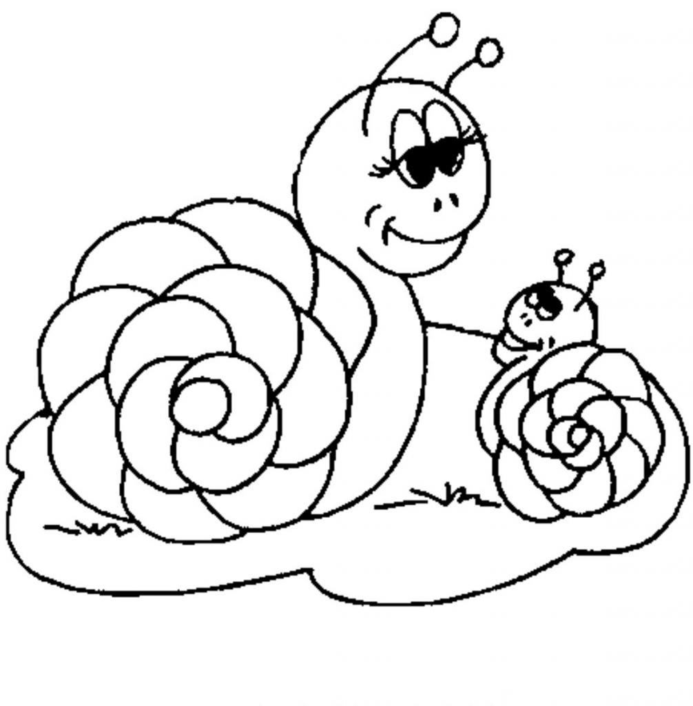 Coloriage Pomme Et Escargot | Haut Coloriage Hd-Images Et serapportantà Dessin Hugo L Escargot