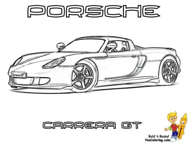 Coloriage Porsche 911 Turbo A Imprimer Coloriage Porsche encequiconcerne Coloriage Porsche A Imprimer