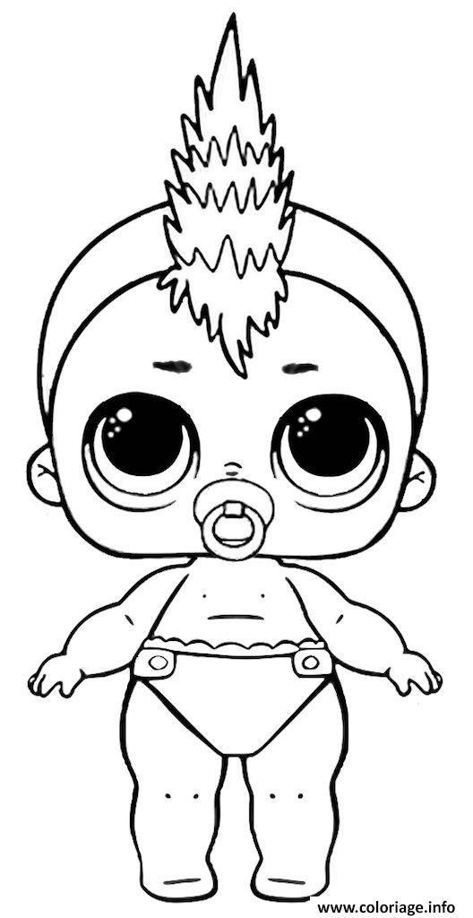Coloriage Poupee Lol A Imprimer Lil Punk À Imprimer avec Coloriage Poup?E Lol