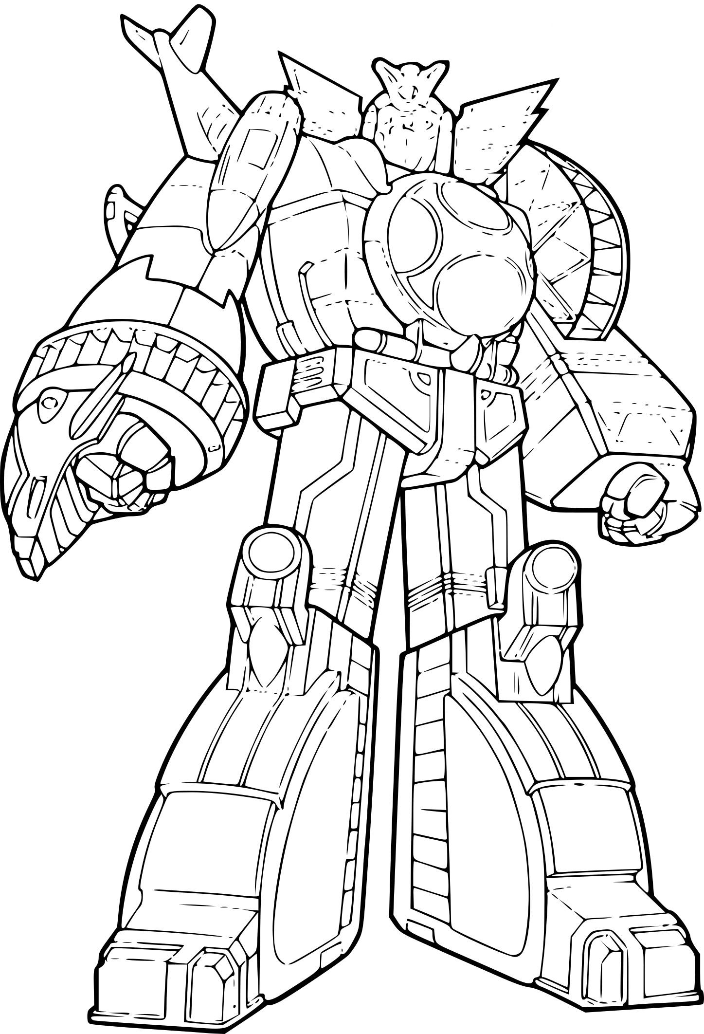 Coloriage Power Rangers Jungle Fury À Imprimer à Coloriage Power Rangers A Imprimer