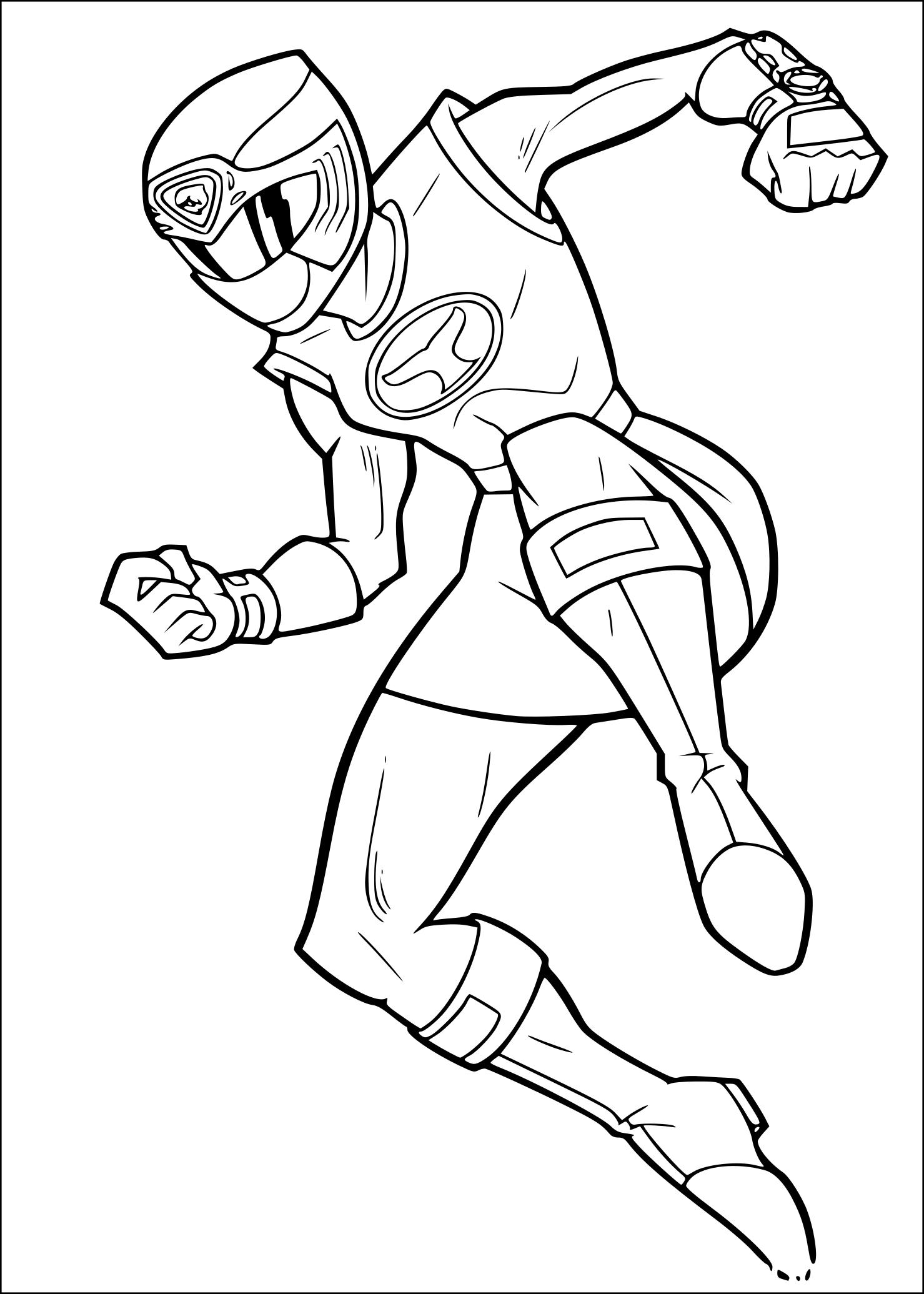 Coloriage Power Rangers Rose À Imprimer tout Coloriage Power Rangers Ninja Steel A Imprimer