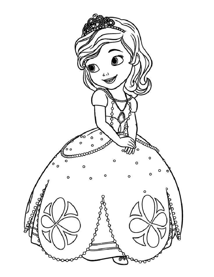 Coloriage Princesse À Colorier - Dessin À Imprimer intérieur Princesse À Colorier Et Imprimer