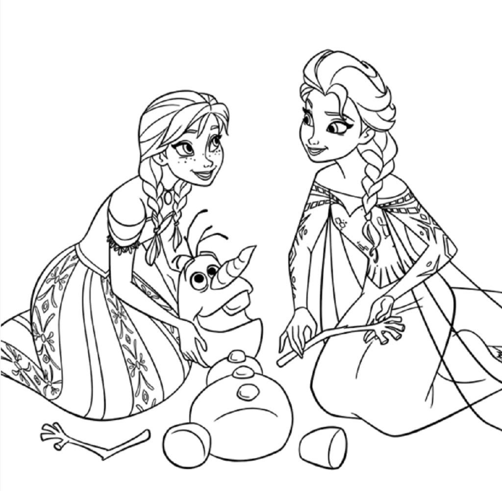 Coloriage Princesse À Imprimer (Disney, Reine Des Neiges, ) à Coloriage Reine Des Neiges À Imprimer Gratuit