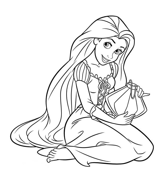 Coloriage Princesse À Imprimer (Disney, Reine Des Neiges, ) dedans Princesse À Colorier À Imprimer