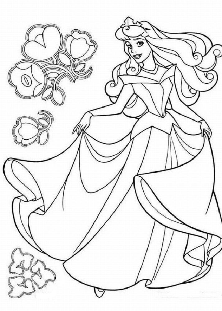 Coloriage Princesse À Imprimer (Disney, Reine Des Neiges, ) pour Coloriage Princesse