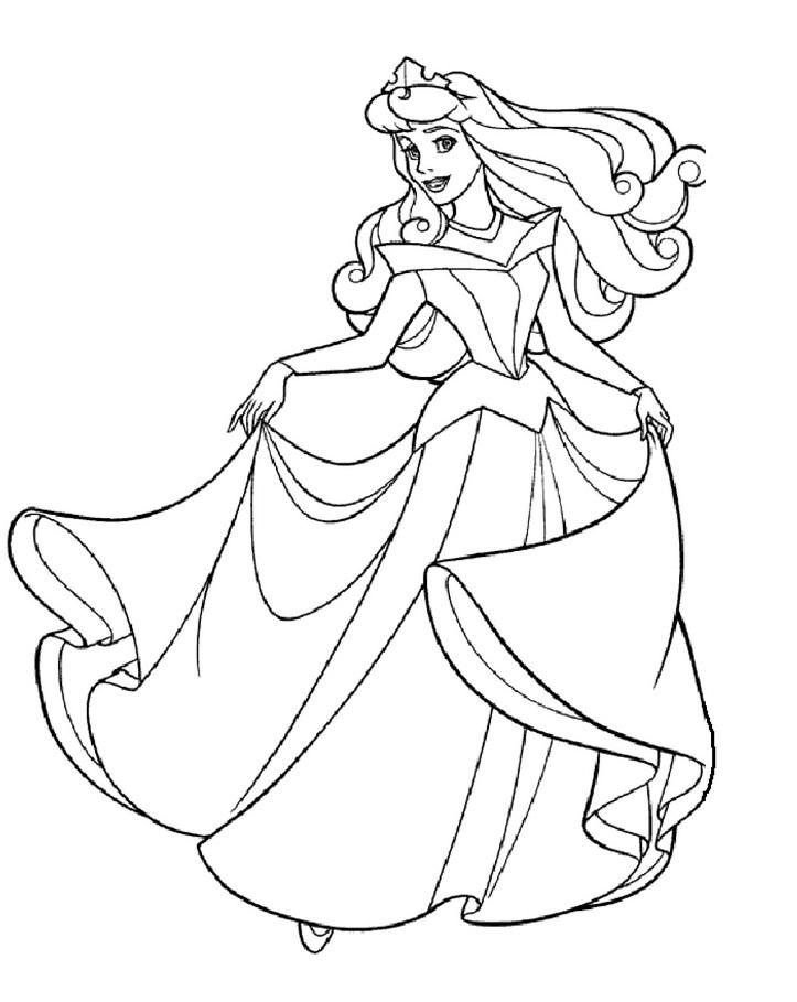 Coloriage Princesse À Imprimer (Disney, Reine Des Neiges, ) tout Dessin À Imprimer Princesse Disney