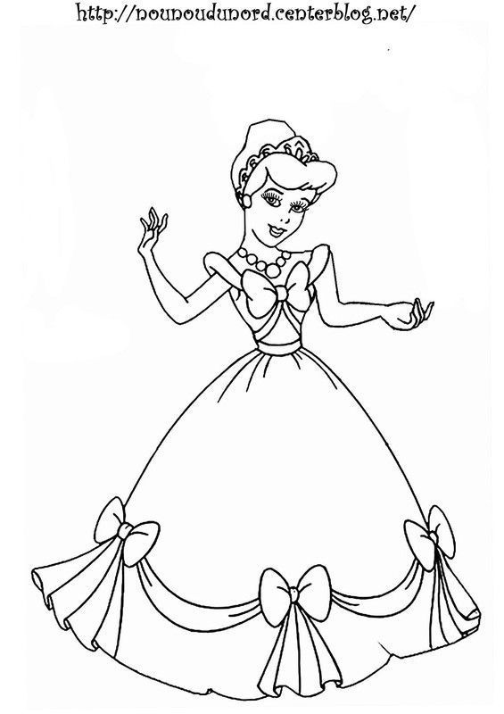 Coloriage Princesse A Imprimer intérieur Coloriage Gratuit
