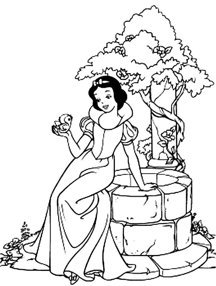 Coloriage Princesse Blanche Neige Coloriages Interactifs encequiconcerne Coloriage Interactif