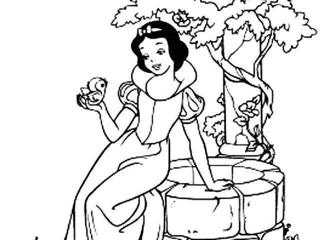 Coloriage Princesse Blanche Neige Coloriages Interactifs tout Coloriage Interactif