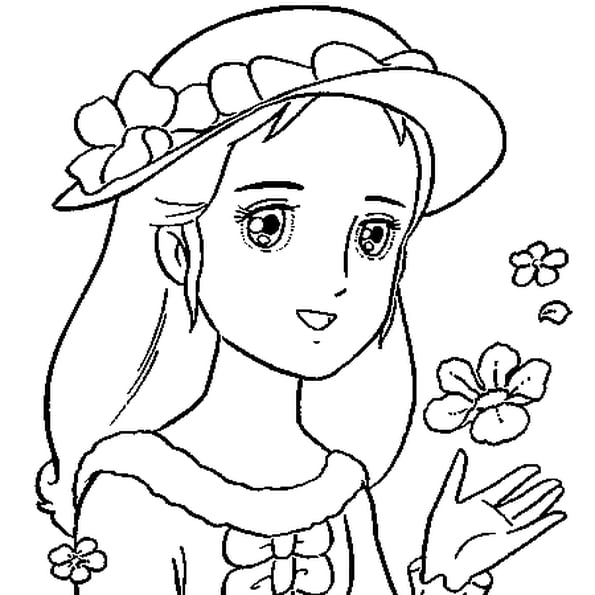 Coloriage Princesse En Ligne Gratuit À Imprimer intérieur Princesse Coloriage