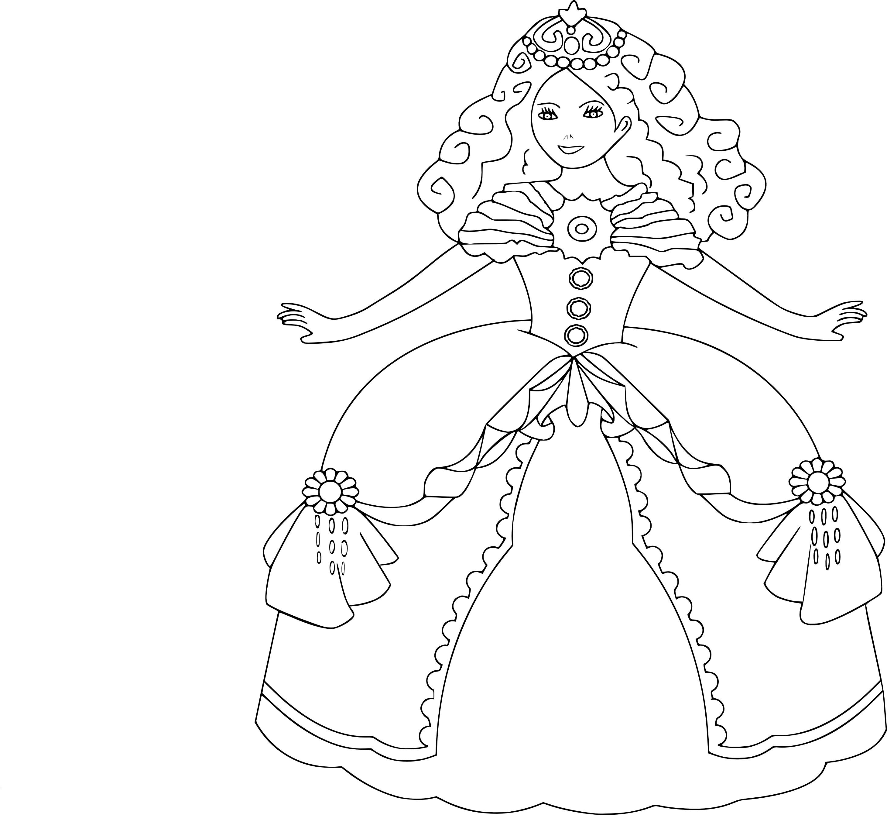 Coloriage Princesse Gratuit À Imprimer Et Colorier tout Coloriage A Imprimer Licorne Et Princesse