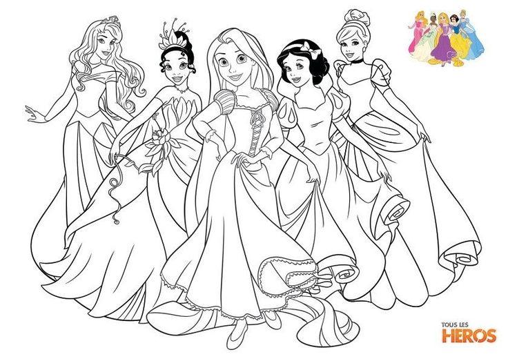 Coloriage Princesse Imprimer Beautiful Coloriages Les encequiconcerne Dessin À Imprimer Princesse Disney
