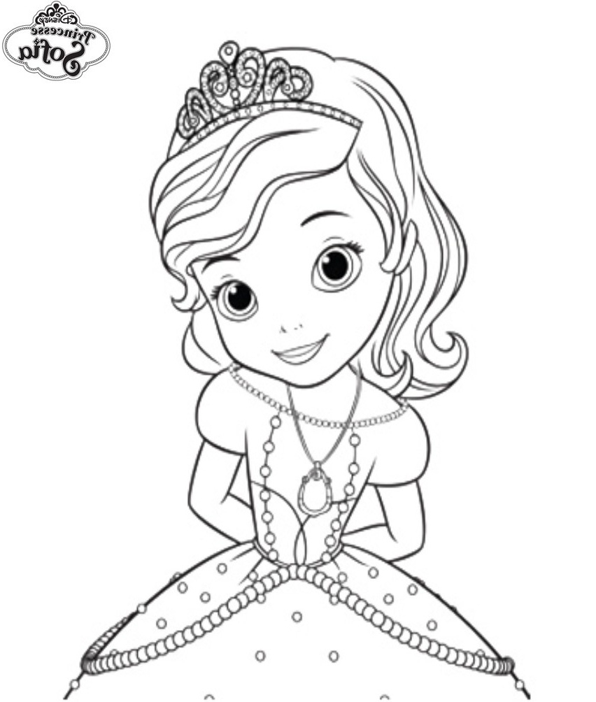 Coloriage Princesse Sofia Impressionnant Collection pour Coloriage Princesse Ambre