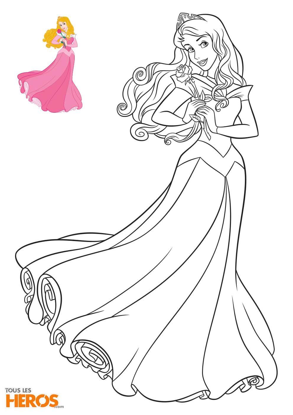 Coloriage Princesses Disney à Imprimer En 2020   Coloriage dedans Coloriage Princesse Ambre