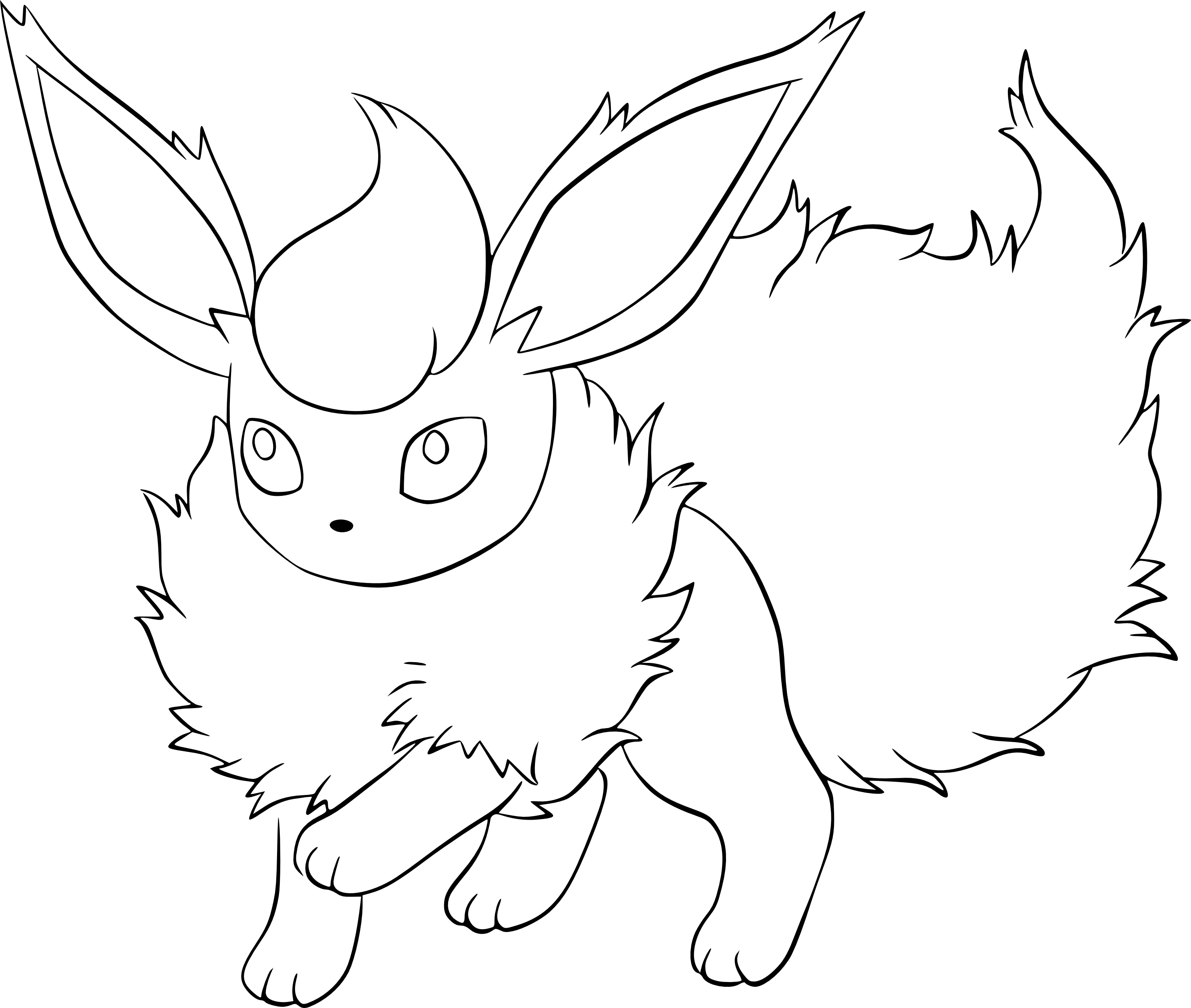 Coloriage Pyroli Pokemon À Imprimer tout Coloriage Pokemon A Imprimer