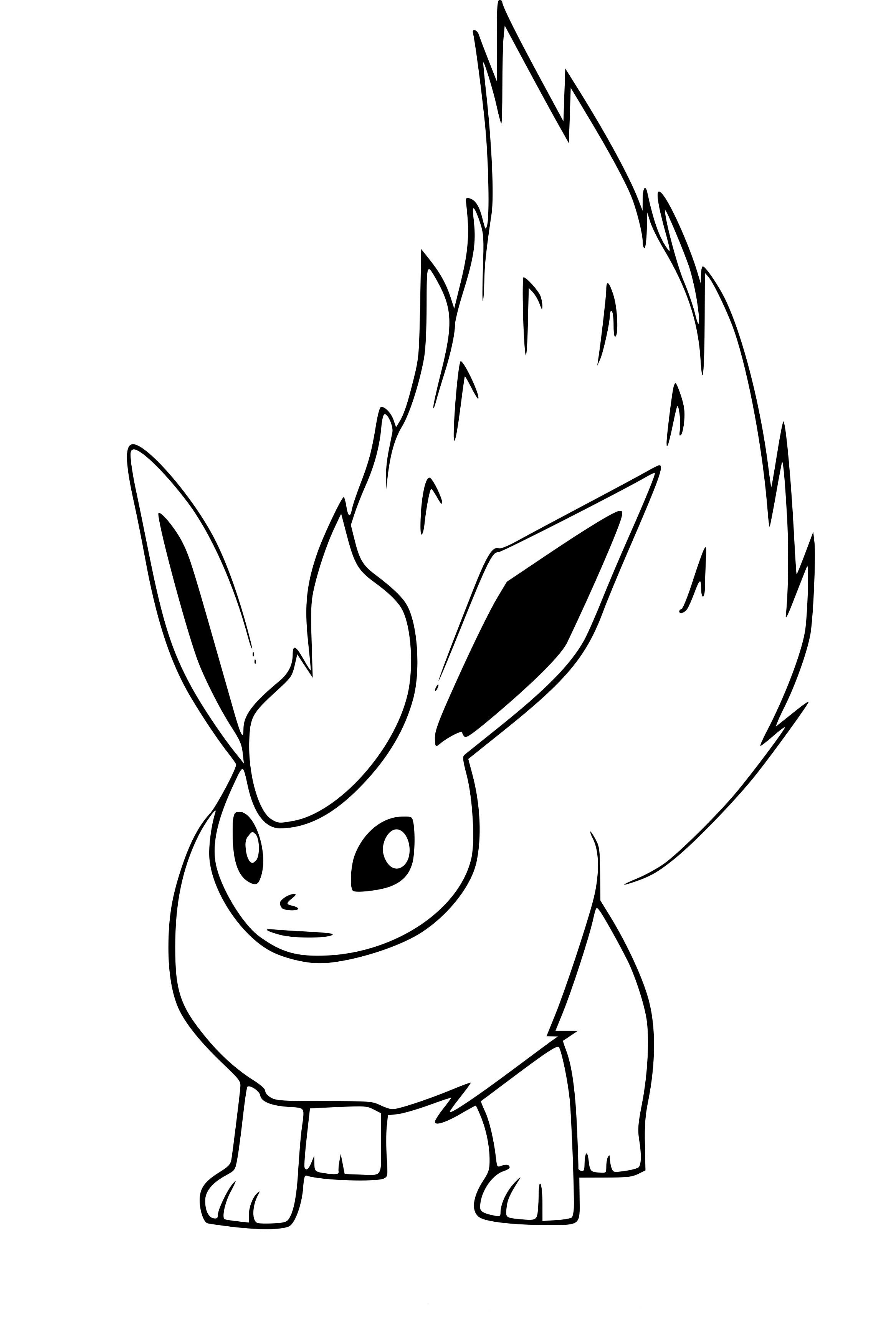 Coloriage Pyroli Pokemon Go À Imprimer Sur Coloriages tout Coloriage De Pokémon À Imprimer