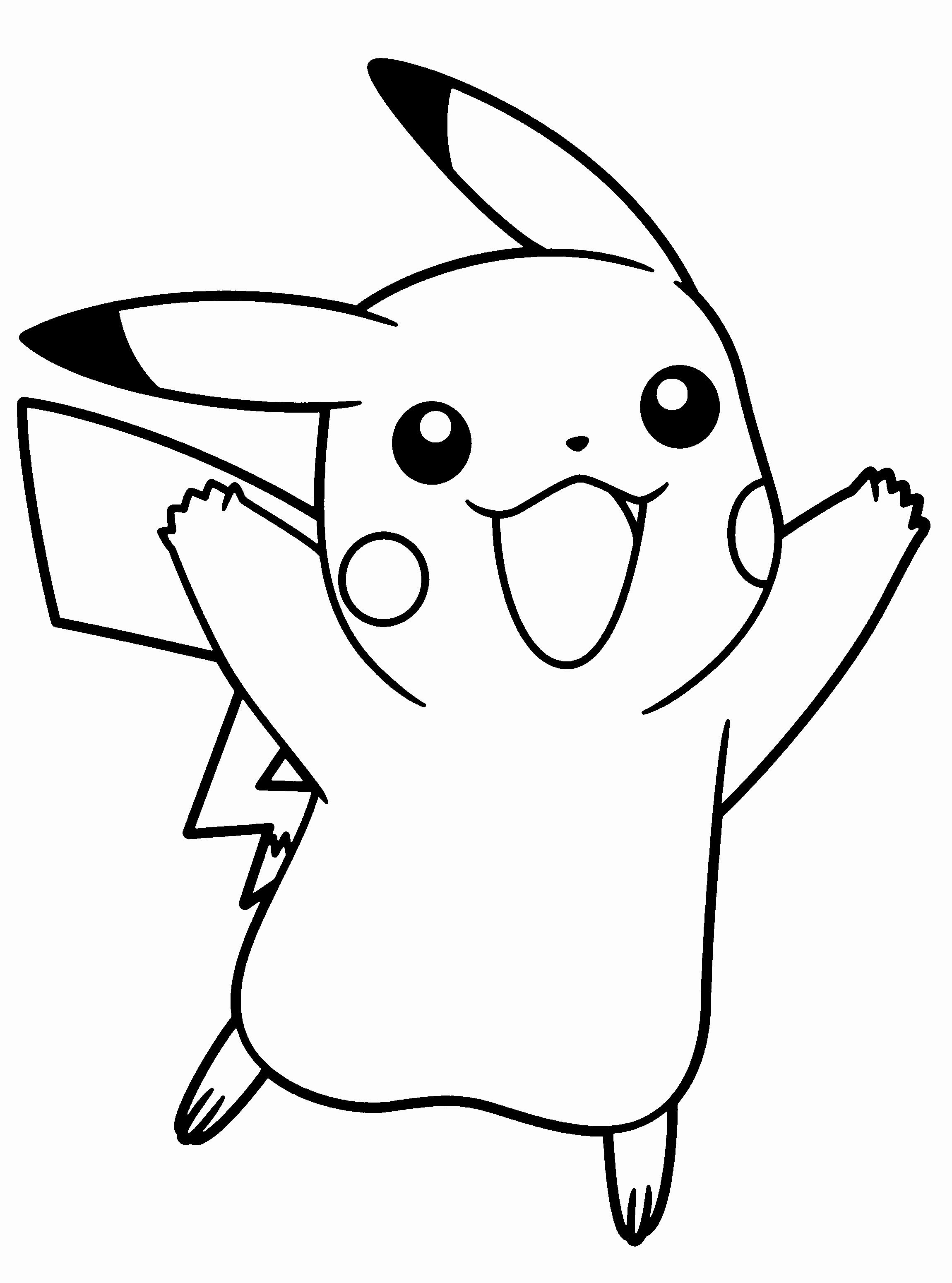 Coloriage Raichu Pokemon Nouveau Pokemon  Beau Pokemon pour Coloriage Pokemon Raichu