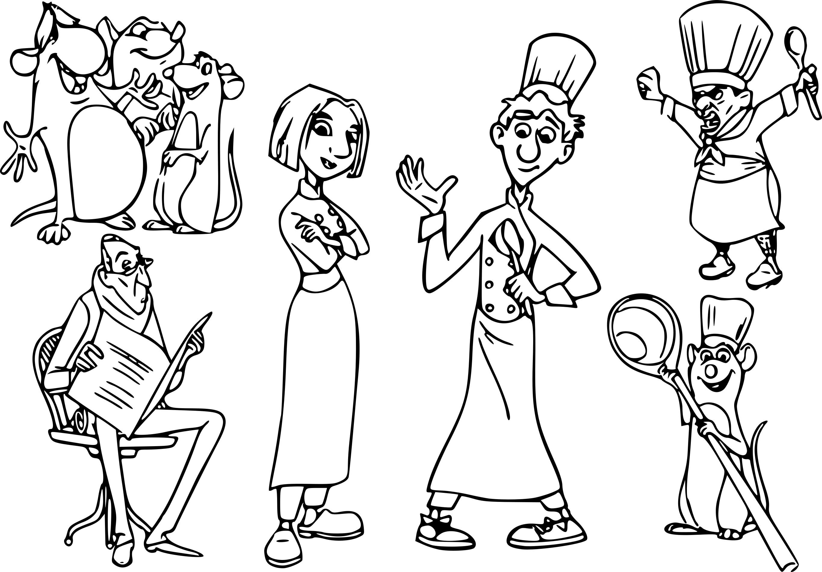 Coloriage Rauille Disney À Imprimer serapportantà Coloriage Imprimer